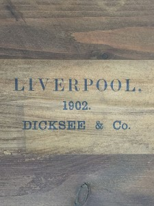 The label of the original framer, Dicksee & Co, the favourites of the Newlyn School.