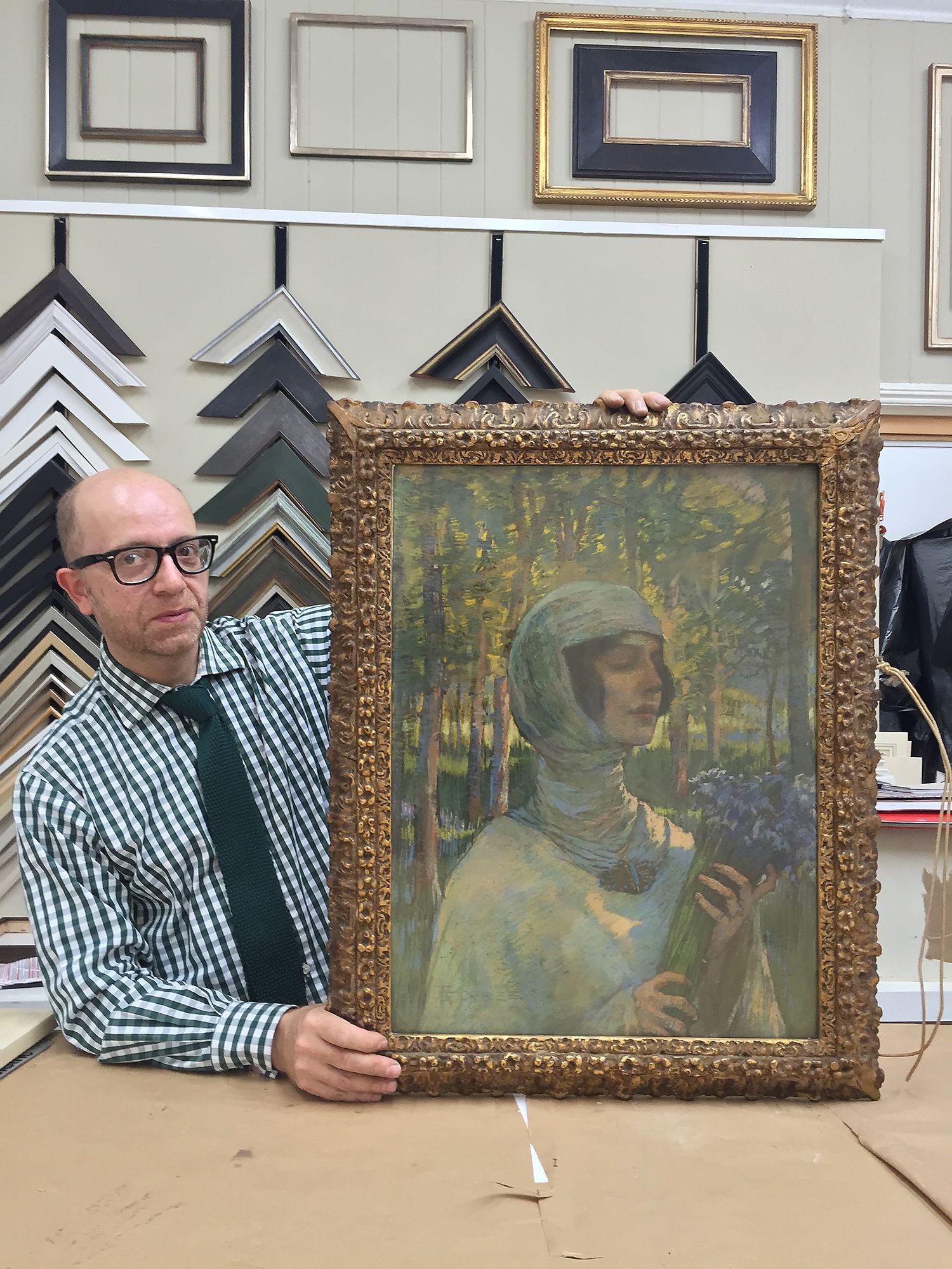2aeb332f2 Fine art framing restoration and conservation - Chris Everett Framing
